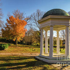 Old City Cemetery in Autumn by Norma Brandsberg