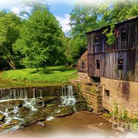 Old Cotton Hill Mill by Norma Brandsberg