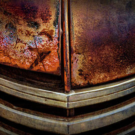 Old Dodge Pickup Truck Grill by Teri Virbickis