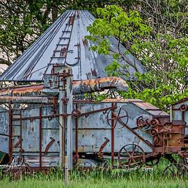 Old Farm Machine by Connie Allen