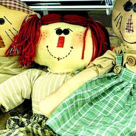 Old-Fashioned Rag Dolls by Arlane Crump
