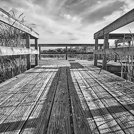 Old Fishing Dock by Jim Hughes