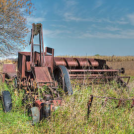 Old Hay Baler by Jim Thompson