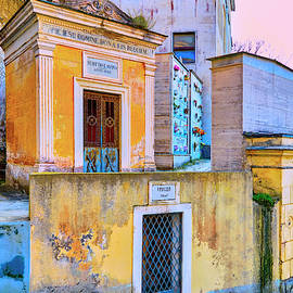 Old Italian Mausoleums by Dominic Piperata