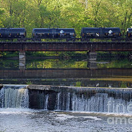 Old Mill Dam Terre Haute, Indiana by Steve Gass