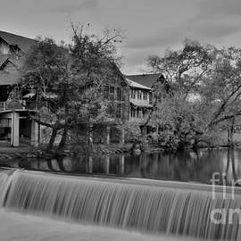 Old Mill Restaurant B W by Dennis Nelson