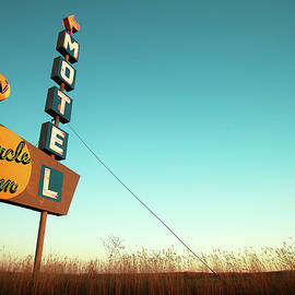 Old Motel Neon by Todd Klassy