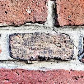 Old North Church Bricks by Rob Hans