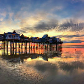Joann Vitali - Old Orchard Beach Maine Sunrise