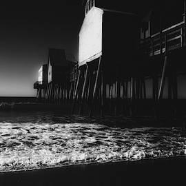 Old Orchard Beach Noir by Bob Orsillo