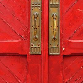 Old Red Door by Regina Geoghan