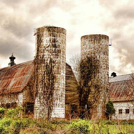 Old Rustic Barn In Cumberland Virginia by Ola Allen