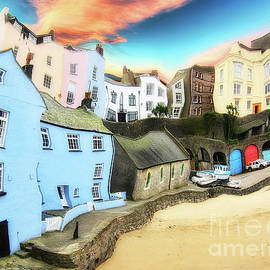 Old Sea Side Town  - Twisted by Sue Harper