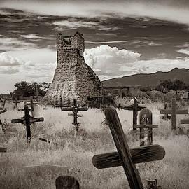 Old St. Jeromes' at Taos Pueblo by Yuri Lev