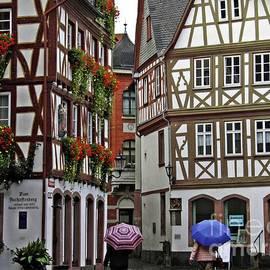 Old Town Mainz 2  by Sarah Loft