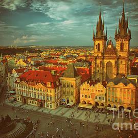 Old Town Prague by Mariola Bitner