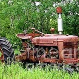 Old Tractor by Don n Leonora Hand