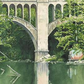 Old Train Bridge by James Wall