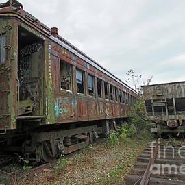 Old Train Siding 4 by Steve Gass