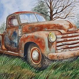 Virginia Plowman - Old truck has seen better days