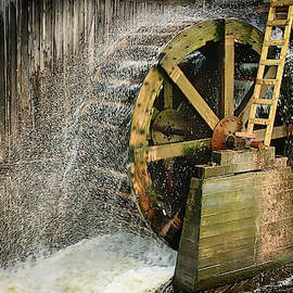 Old mill water wheel by Tatiana Travelways