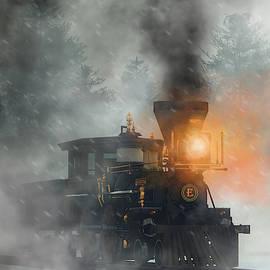 Old West Steam Train  by Daniel Eskridge