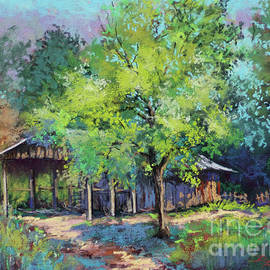 Olde Tractor Barn by Dianne Parks