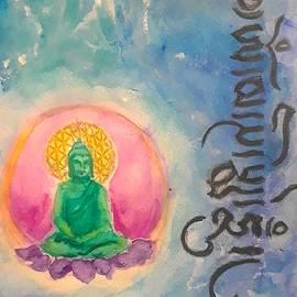 Om Mani Padme Hum by Jennie Hallbrown