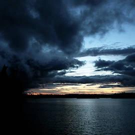 Ominous Dark Clouds by Debbie Oppermann
