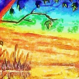 On Golden Sunset by Mario Carini