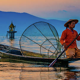 On Inle Lake by Chris Lord