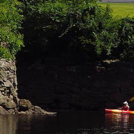 On the Androscoggin  River by Bill Tomsa