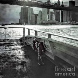 On the Ferry to Brooklyn by Miriam Danar