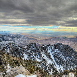 On Top Of The World Sandia Peak by JC Findley
