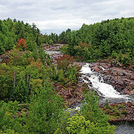 Onaping High Falls by Debbie Oppermann