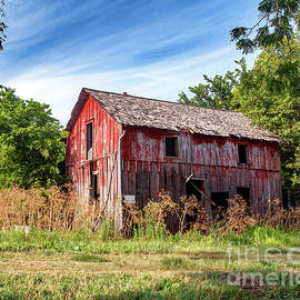 Once Red Barn by Kevin Anderson