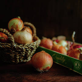 Onions and Crate by Cassi Moghan