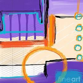 Orange circle by Sarah Niebank