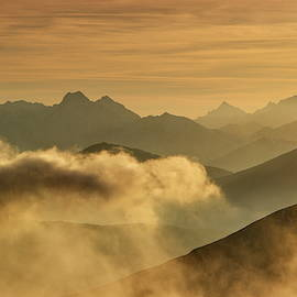 Orange morning by Ren Kuljovska