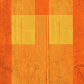 Orange Paper I by Naxart Studio