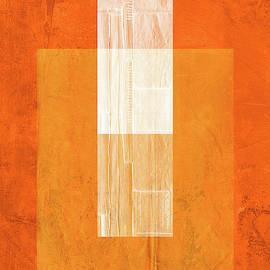 Orange Paper II by Naxart Studio
