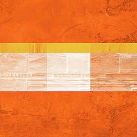 Orange Paper III by Naxart Studio