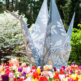 Origami in Bloom by KSarah Photography