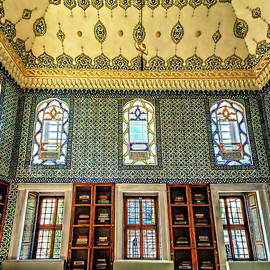 Ornate Library by Maria Coulson