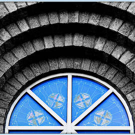 Ornate Stone Window by Constance Lowery