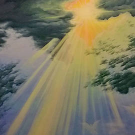 Out Of Darkness His Light Shall Shine by Cheryl Fecht