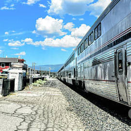 Outbound From Truckee by Joe Lach
