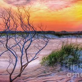 Outer Banks Hidden Sunset by Dan Carmichael