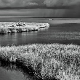 Outer Banks One Last Trip BW by Dan Carmichael