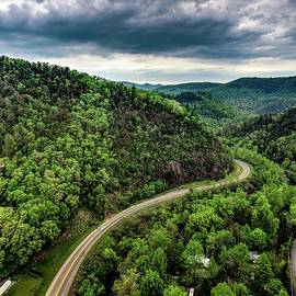 Over Townsend Tennesse Dji_0275 by Michael Thomas